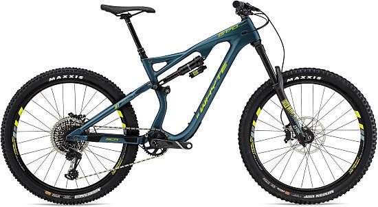 14% off - Whyte G170 C Works 27.5 Mountain Bike 2019 Petrol/Lime!