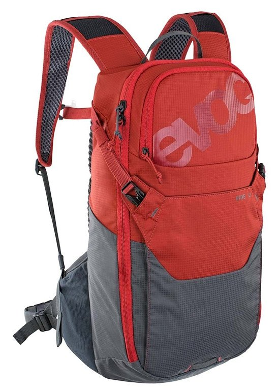 GET 10% OFF - Evoc Ride Performance Hydration Backpack 12L Chili Red/Carbon Grey!