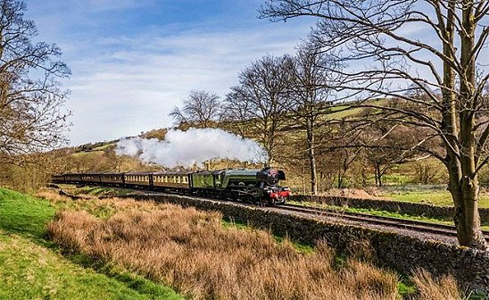The Flying Scotsman Steam Train Experience - 2 Days from just £159 pp!