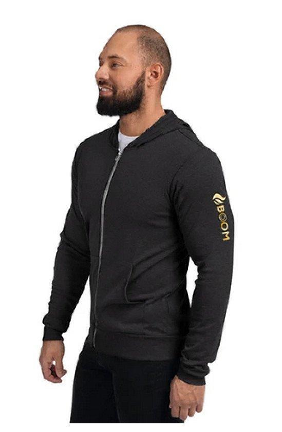 BOOM Men's Zip Hoodie    - Now Available