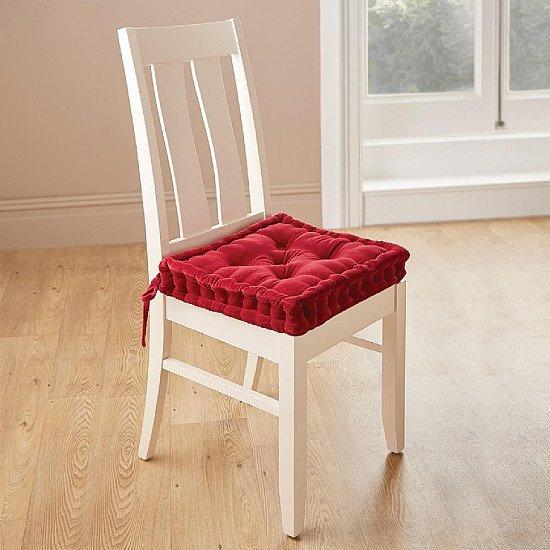 Velour Armchair & Dining Chair Booster Cushions - £19.99!