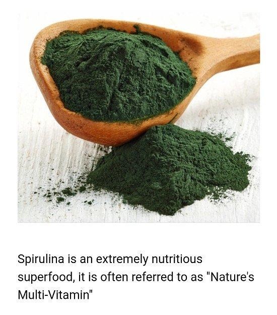 FREE Organic Spirulina Powder - 500g!