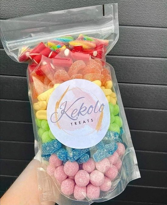 Rainbow pick and mix sweets!