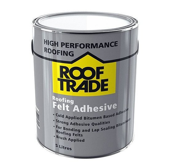 Roof Trade High performance Roofing Felt Adhesive 5L