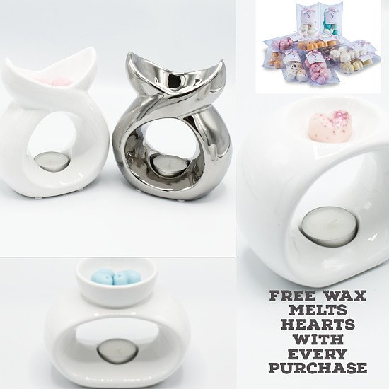 Free Wax Melts When Buying Our New Burners