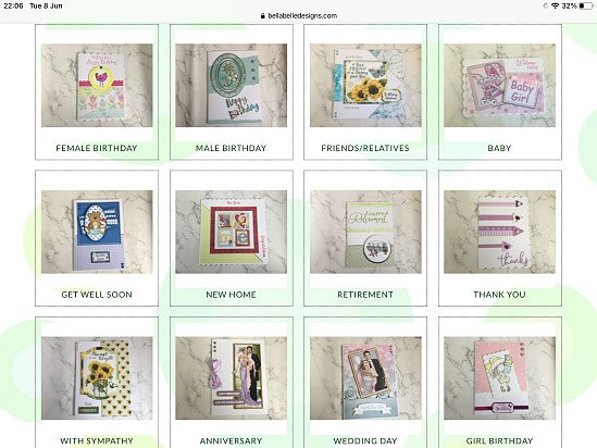 We sell beautiful greetings cards for so many occasions