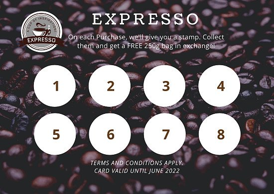 LAUNCH OF LOYALTY CARDS