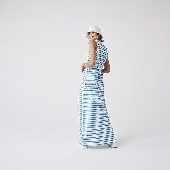 Women's Long Striped Cotton Tank Top Dress - £165.00!