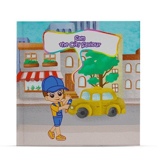 personalised childrens book - The City Saviour