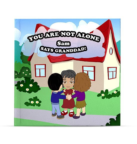 personalised childrens book - you are not alone