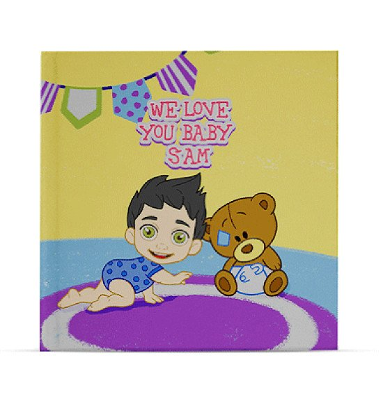 personalised childrens book - We Love You Baby - For New Babies