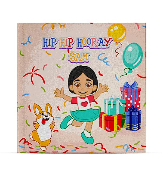 personalised childrens book - Hip Hip Hooray - Birthday Book