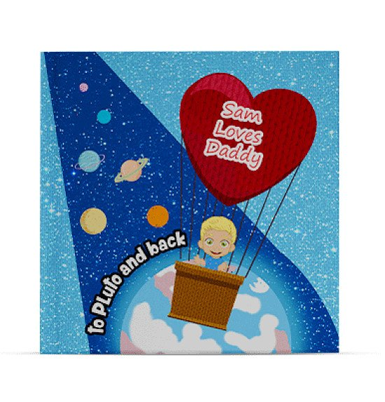 personalised childrens book - I Love Daddy