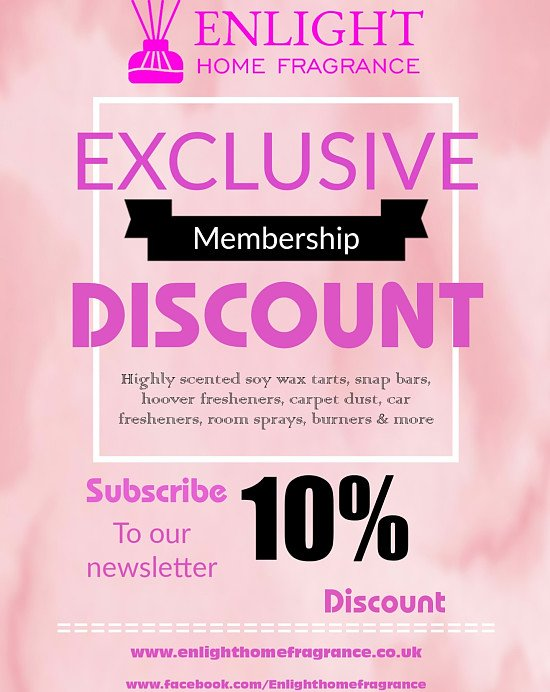 10% discount available for new subscribers