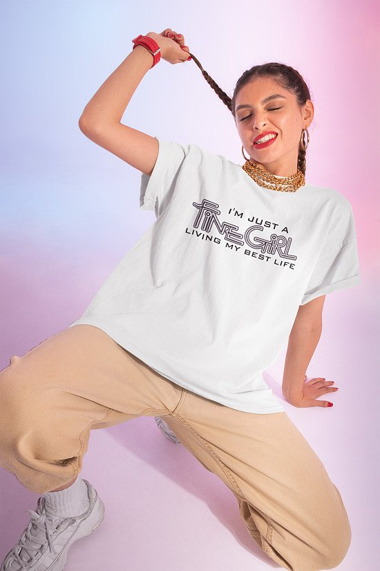 Win a free printed Positive Affirmation T-shirt