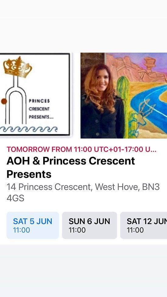 Princess Crescent Presents Artists Open House