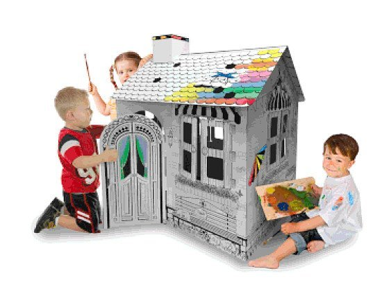 3D CARDBOARD PLAYHOUSE  MY RESORT HOUSE