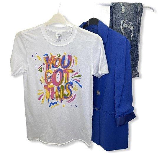 "£5 100% Cotton ""You got this"" T-Shirt"