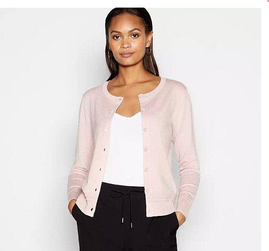 £7 Ladies Ex Store Pink Cardigan