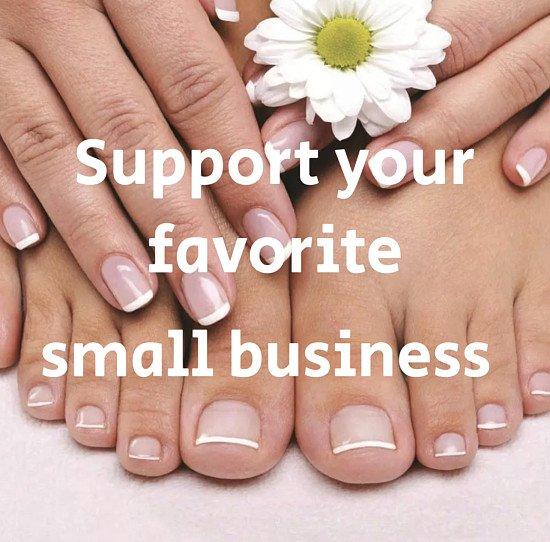 Manicure & Pedicure 40% Off