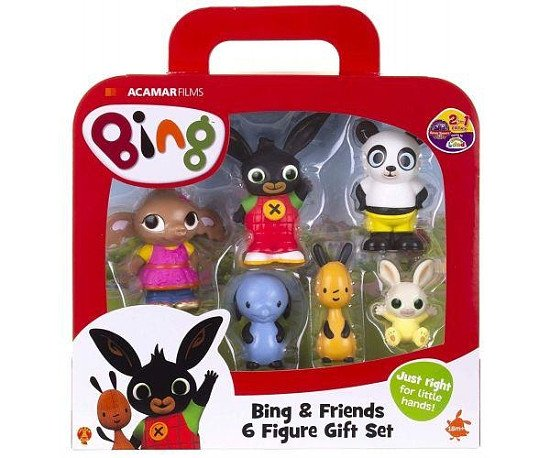 Bing and friends figurines