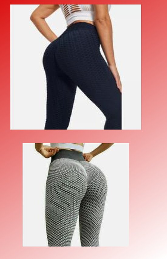 Tik tok inspired Leggings Yoga Pants Seamless high Waist Booty Breathable Gym Wear