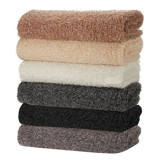 Neotrims Pile Fabric Soft Sheep Wool Fleece Look 4 Natural Colours Photography