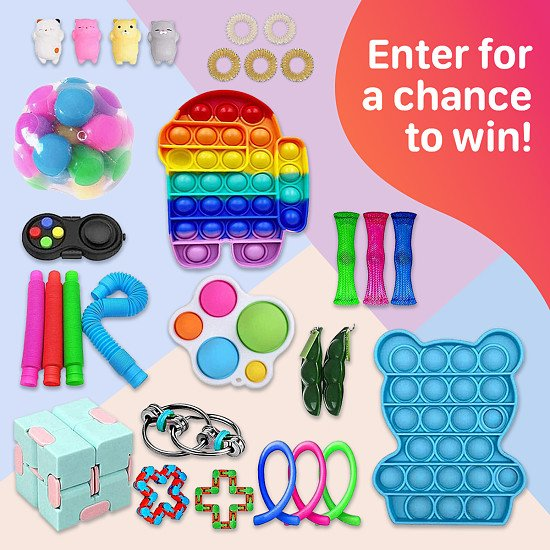 WIN this Fidget Toy Set - Great for kids