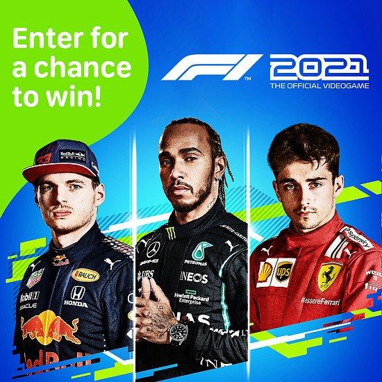 WIN a copy of F1 2021