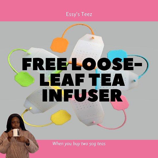 Free Loose Tea Infuser