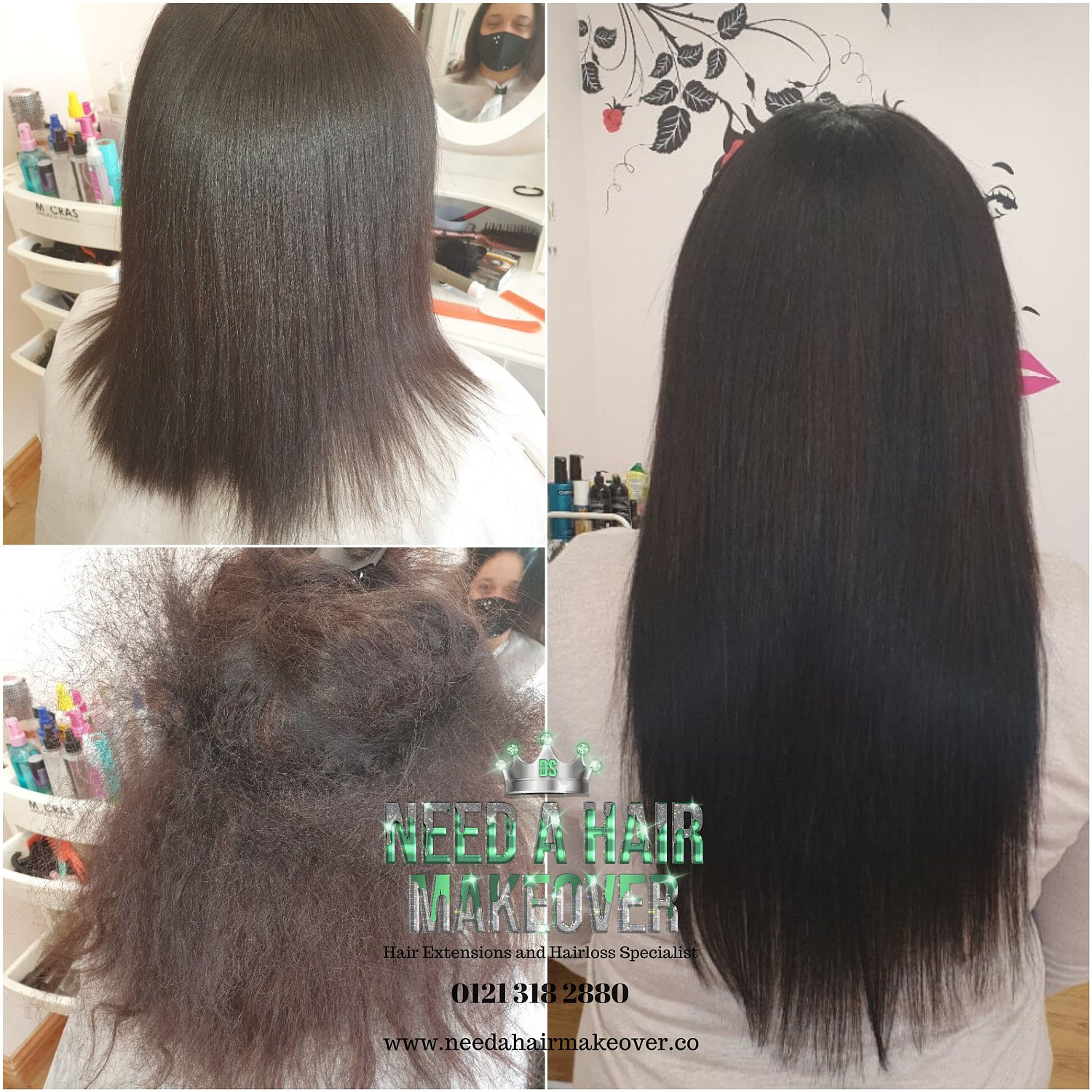 Win 1 Set of Clip in Hair Extensions