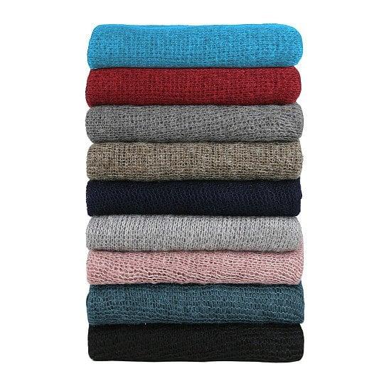 Neotrims Loose Knit Dress Blanket Dress Fabric Faux Mohiar Baby Wrap Soft Handle