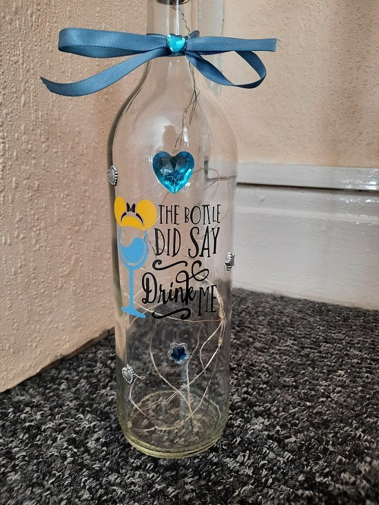 disney light up bottles