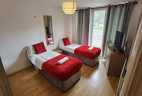 Win a week in Birmingham serviced apartments (in January 2022 sleeps up to 4)