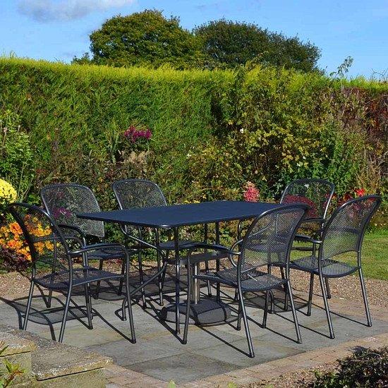 Royal Garden Carlo 6 Seat Rectangular Set - £700.00!