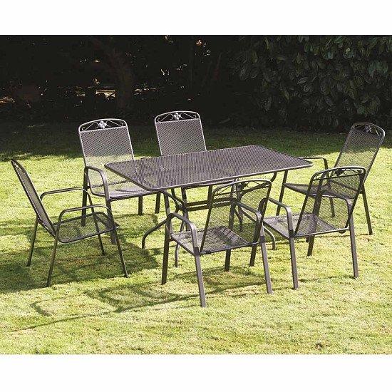 Royal Garden Savoy 6 Seat Rectangular Set - £700.00!
