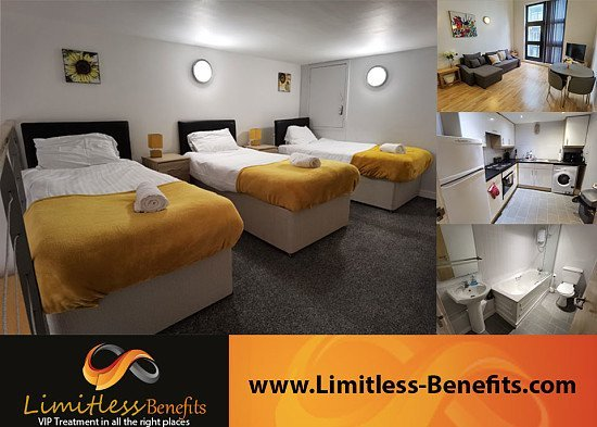 Win a weekend in liverpool serviced apartments (in January 2022 sleeps up to 7)