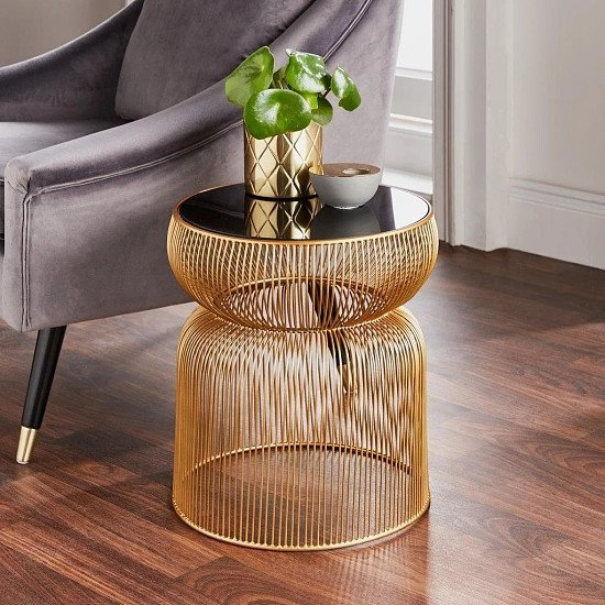 Curve Side Table - Save £££s on RRP!