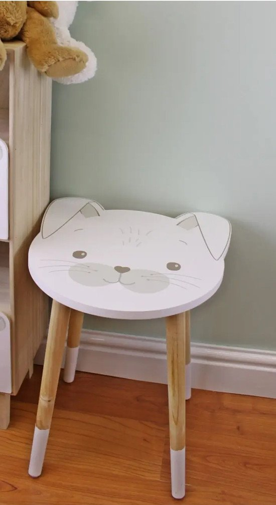 Baby Bear Wooden Side Table, Rabbit Design £29.99 FREE DELIVERY