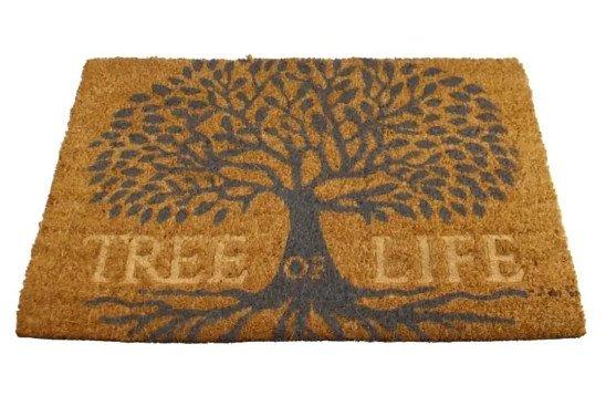 Tree Of Life Design Coir Doormat £19.99 FREE DELIVERY