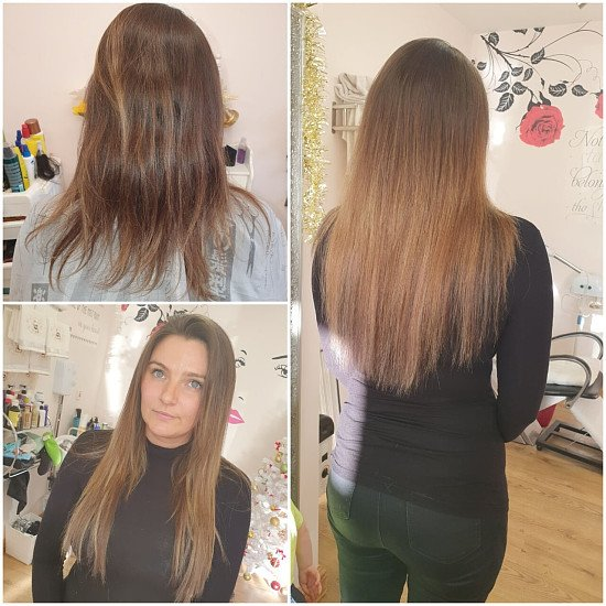 Win a Set of 18inches  tape in Hair Extensions