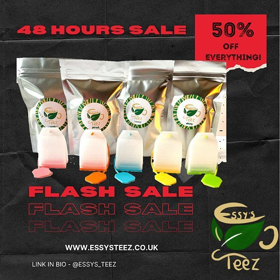 FLASH SALE! 48 HOURS ONLY!