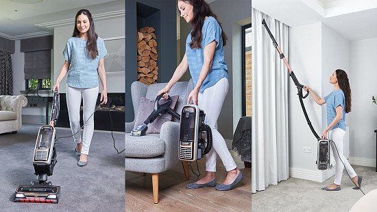 SAVE - Shark Anti Hair Wrap Upright Vacuum Cleaner Plus with Powered Lift-Away