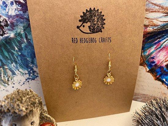 Handmade Flowers Earrings