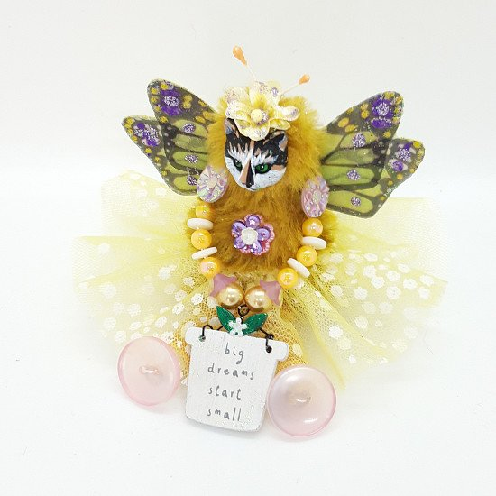 BIG DREAMS START SMALL FAIRY CAT -  GRAB a 20% discount and free shipping!