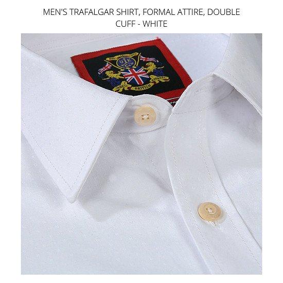 Men's Shirt's, The Trafalgar White