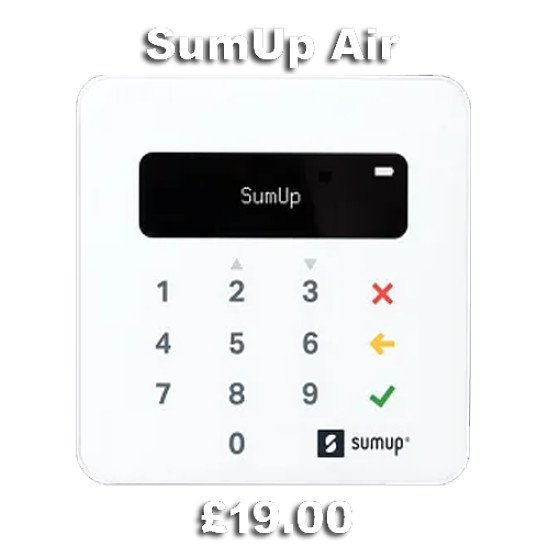 SumUp The very best mobile card readers in the UK