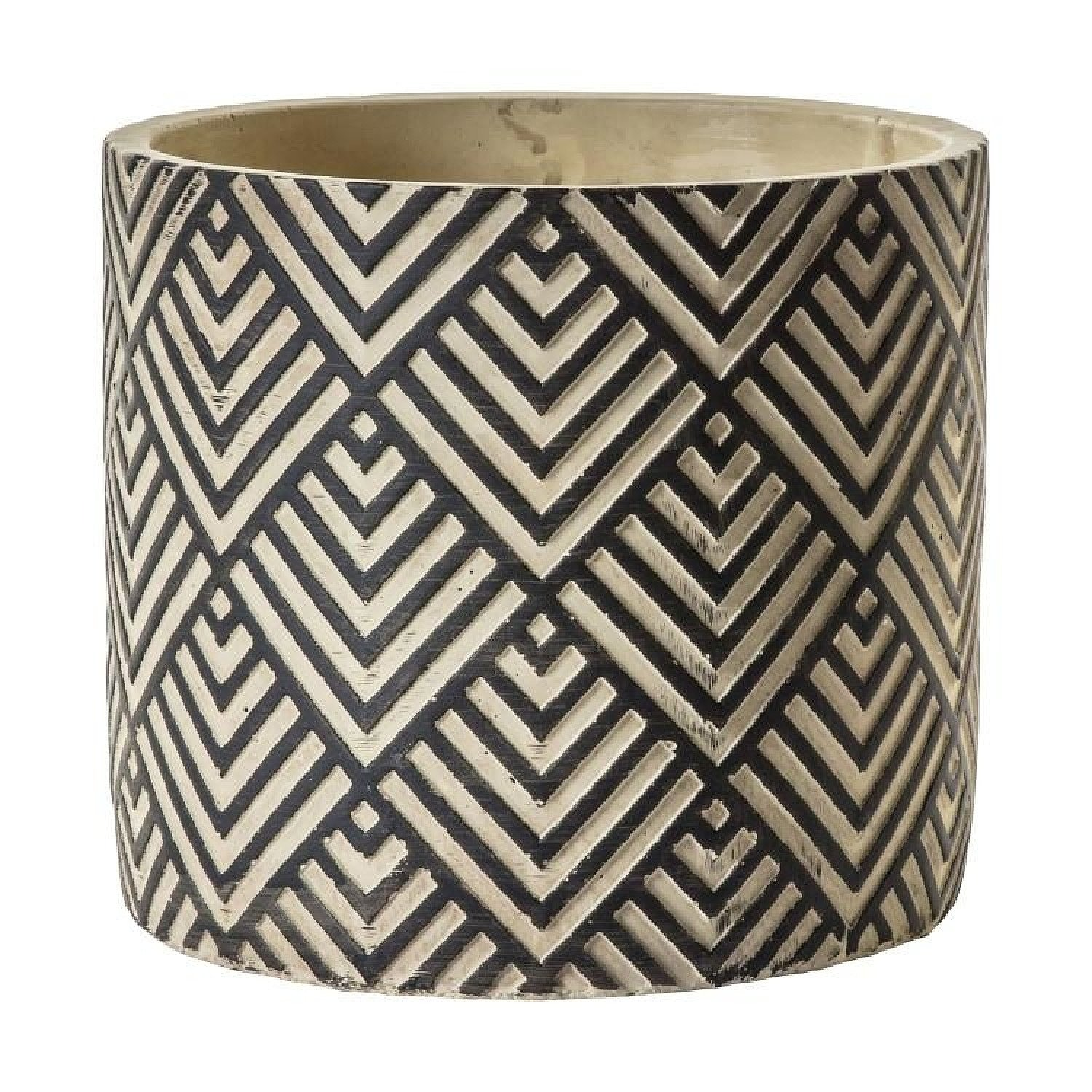 SALE - Gallery Direct Marlin Black Natural Pot Small, Outlet!