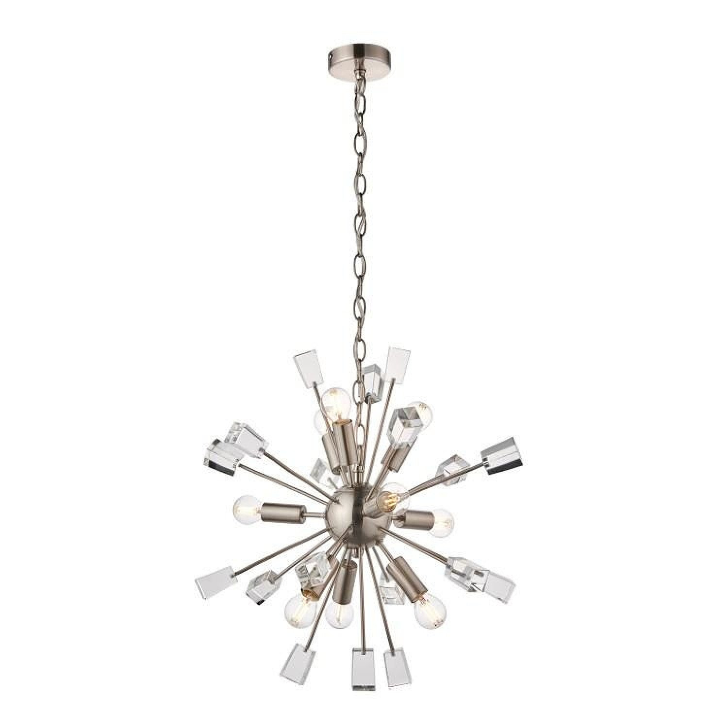 SALE - Gallery Direct Miro 9 Pendant Light Nickel   Outlet!