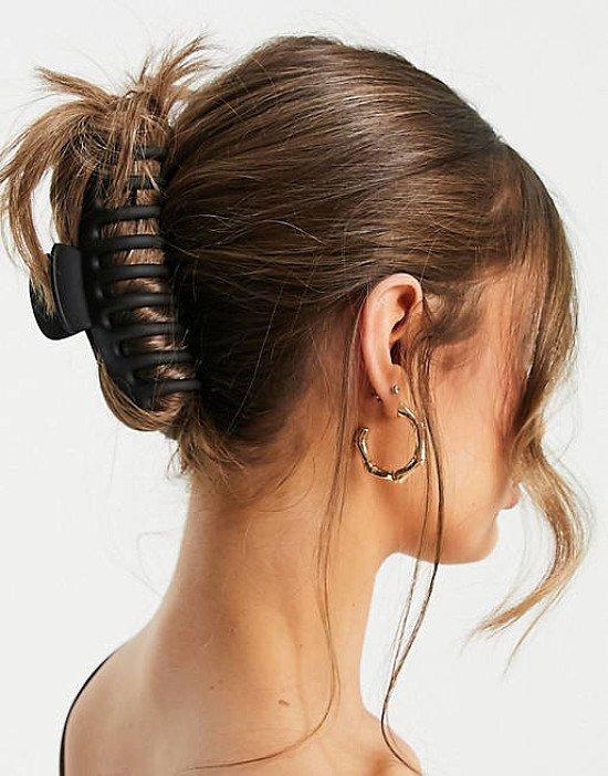 ASOS DESIGN hair clip claw in black - £6.00!